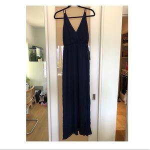 Lulu's- Lost In paradise navy dress